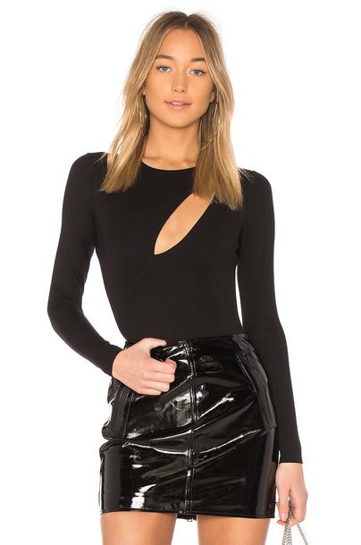 h:ours bodysuit black underwear