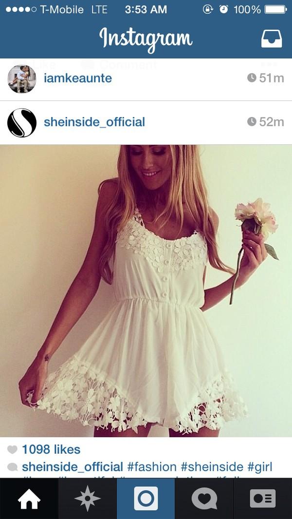 lace dress cute dress summer dress white lace dress