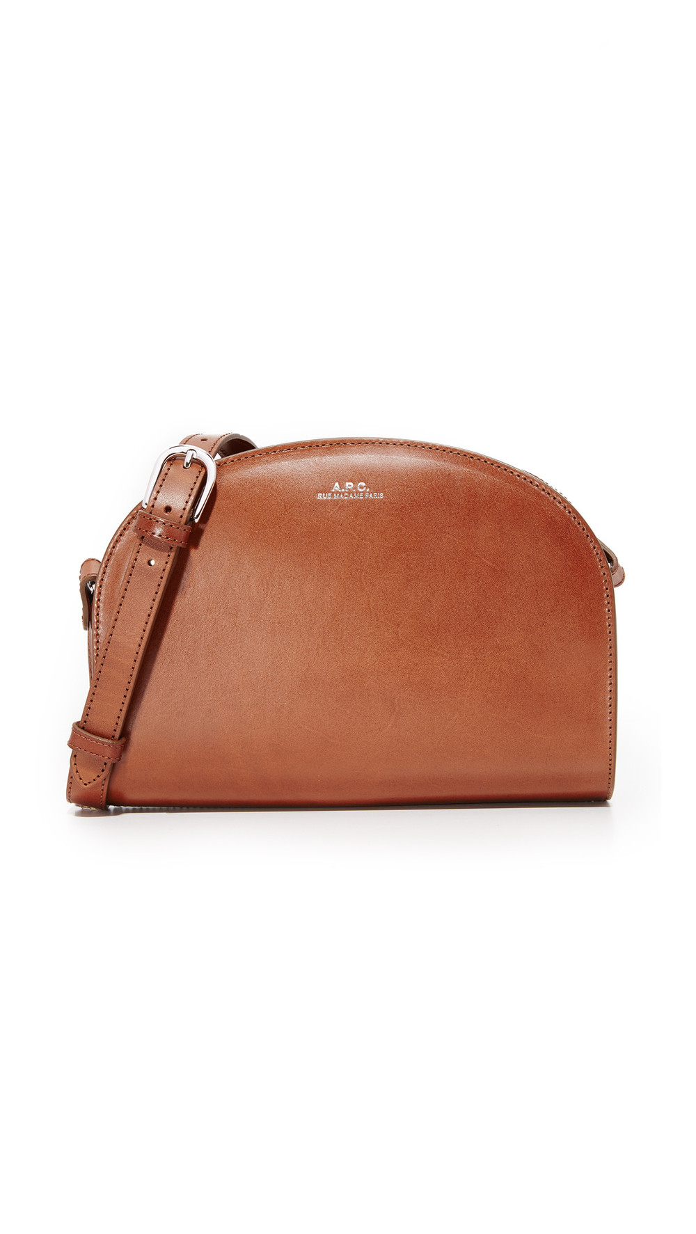 A.P.C. A.P.C. Half Moon Bag - Noisette