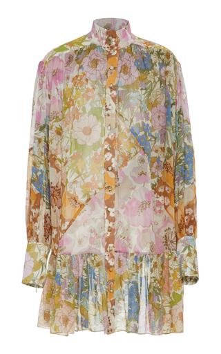 Floral-Print Silk-Chiffon Mini Dress by Zimmermann   Moda Operandi