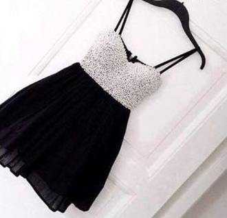 dress black silver shiny black prom dress black dress little black dress silver dress shiny dress short dress spaghetti straps dress spaghetti strap prom dress short prom dress black prom dress with silver material. sequin prom dress