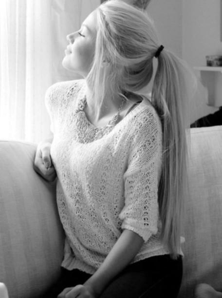 blouse blonde hair cute