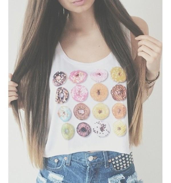 shirt donut t-shirt