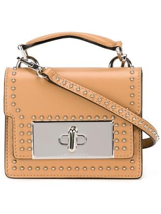 mini studded bag crossbody bag nude