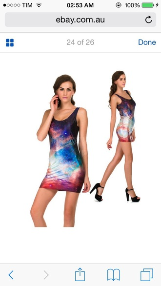 dress galaxy dress galaxy print galaxy jansport bag grunge hipster