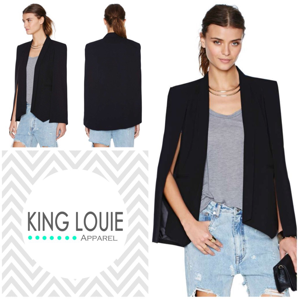 Structure cape blazer {presell item} – king louie apparel