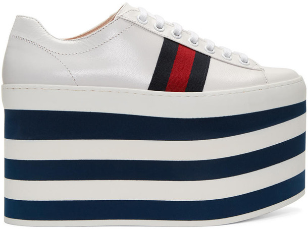 gucci high sneakers platform sneakers white shoes