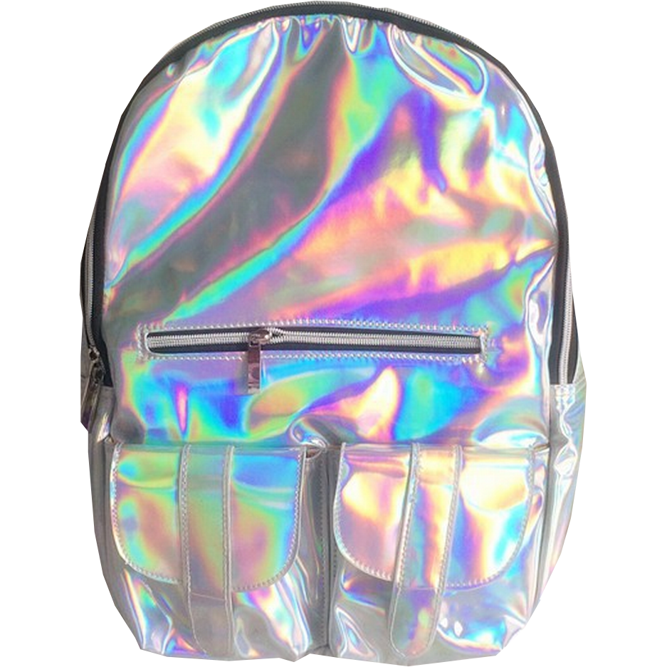Holographic Backpacks Inu Inu