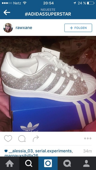 shoes adidas superstars glitter white sneakers adidas superstar silver glitter trainers glitter superstars sparkly  adidas superstars silver sneakers sparkle silver glitter low top sneakers amazing love adidas superstars glitter adidas superstar 2 silver snake