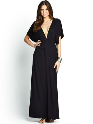 Resort batwing maxi dress