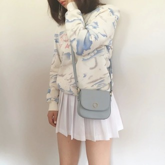 shirt tumblr asian cute pale vaporwave internet seapunk grunge soft grunge minimalist skirt jacket shorts tennis skirt bag soft pastel