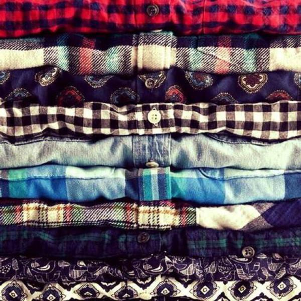 blouse tartan