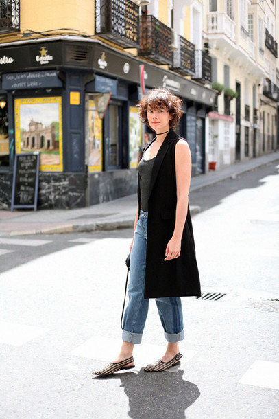 che cosa blogger jeans jacket t-shirt shoes bag weekend outfits