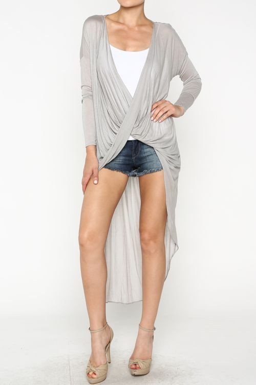 Twisted Long Cardigan