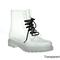 Easos geal stu01 women's fashionable lace-up jelly ankle high rain boots