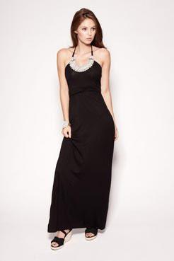 Jasmine pearl maxi dress at boohoo.com