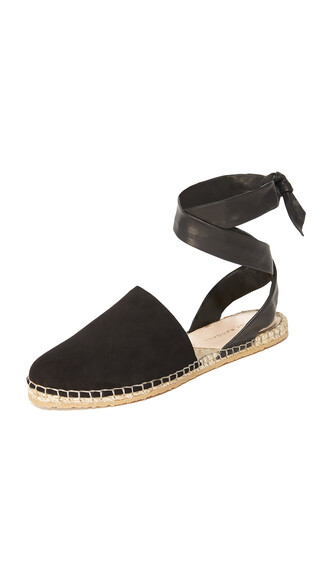 espadrilles black shoes