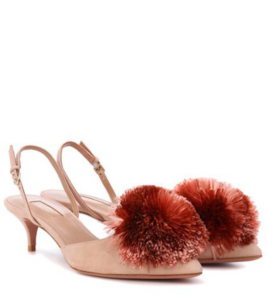 Aquazzura pumps pink shoes