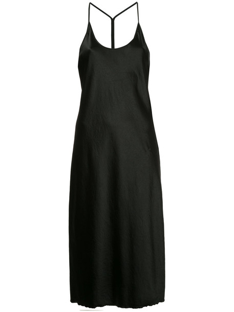 T by Alexander Wang dress slip dress racerback women black