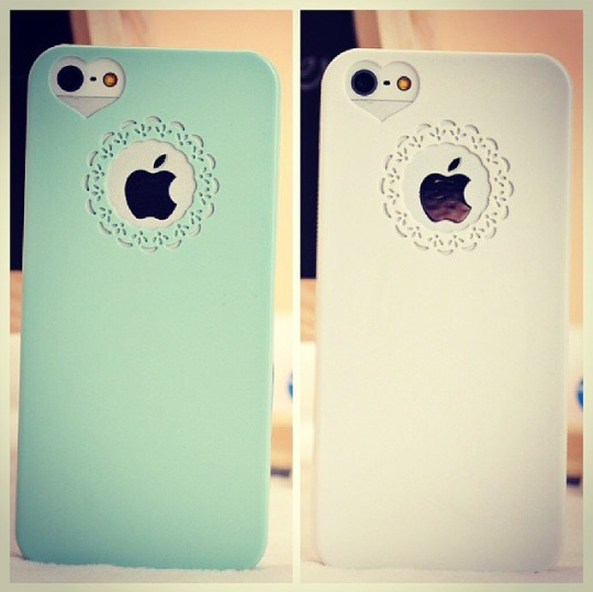 phone cover heart bohemian pattern cut outs iphone pretry