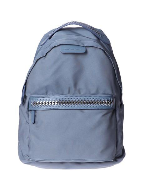 Stella McCartney backpack blue bag