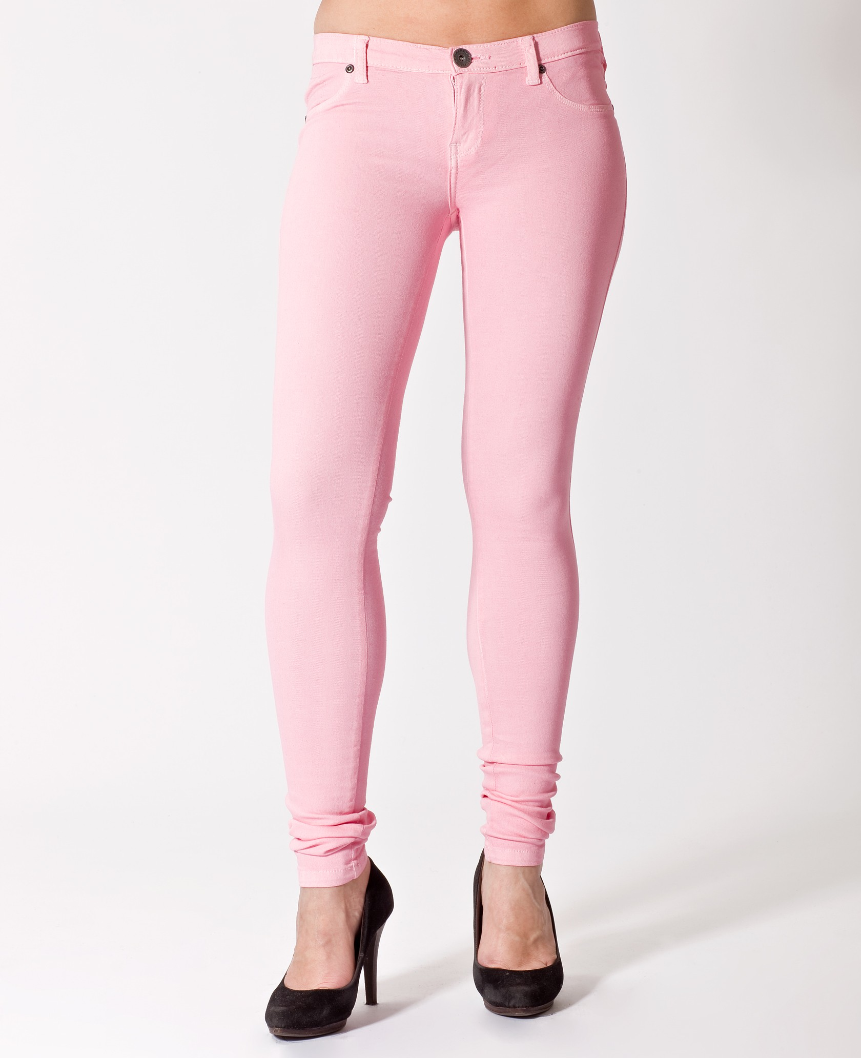 Kissy Dr Denim : en vente jegging rose pale (light pink) - Brandtrotters