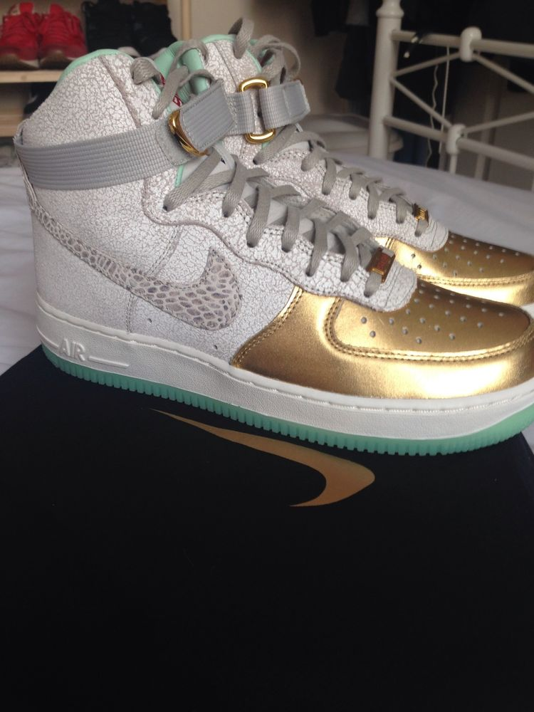 Nike Air Force 1 Year Of The Horse Qs Uk 6 Brand New!