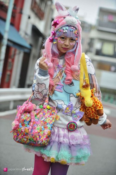 bag kawaii style fashion