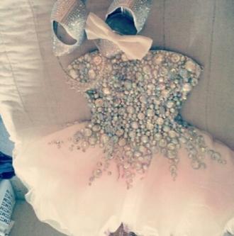 dress prom dress diamonds rhinestones jovani