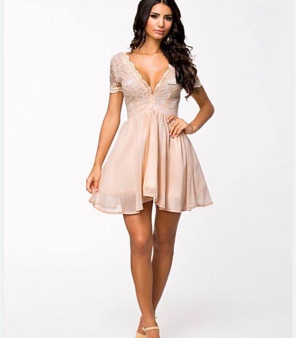 dress prom dress party dress short dress sexy dress v neck dress lace dress princess dress skater dress flare bege dress