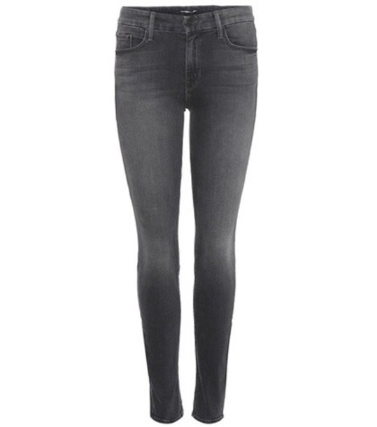 Mother jeans skinny jeans grey