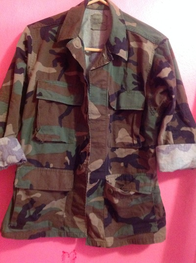 Unisex Military Army Fatigue Camo Jacket · Fashion's Junkyard · Online Store Powered by Storenvy