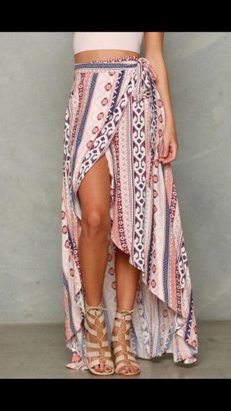 skirt wrap skirts summer cute
