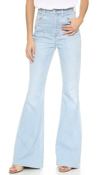 jeans flare jeans flare high blue
