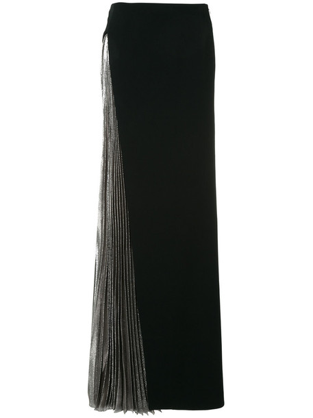 MUGLER skirt pleated women spandex black