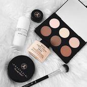 make-up,anastasia beverly hills,contour,mac cosmetics,nude,beige