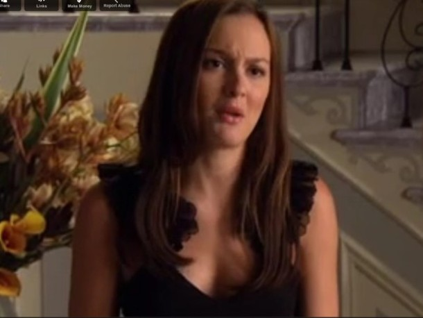 gossip girl blair leighton meester blouse