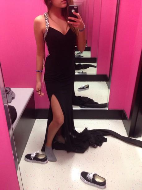 dress backless dress prom dress long dress bodycon dress black dress