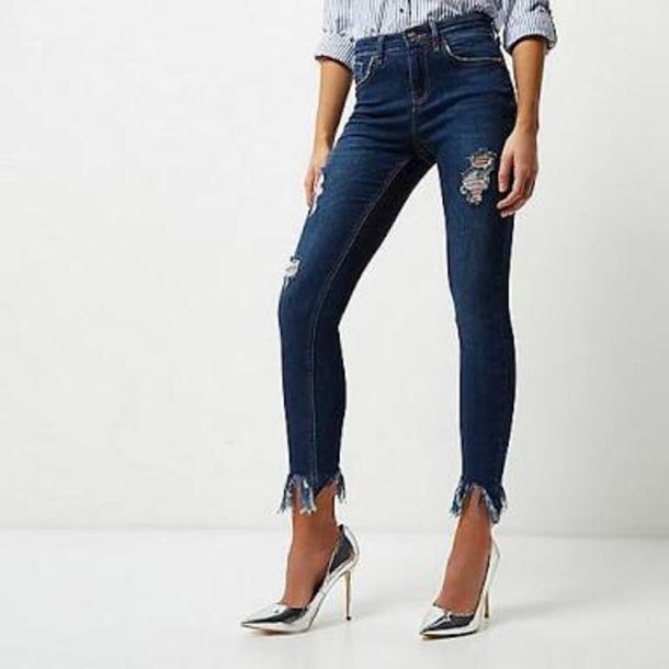 jeans frayed frayed jeans