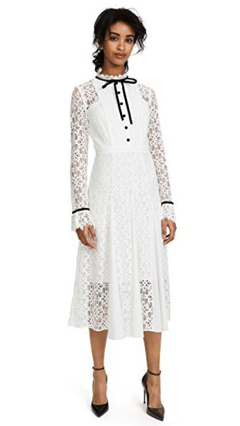 Temperley London dress lace white