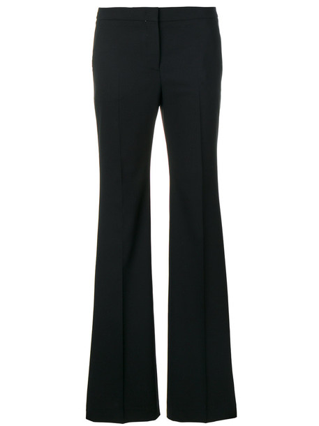 INCOTEX women spandex black wool pants