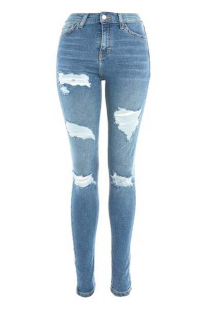 Topshop jeans cheeky blue