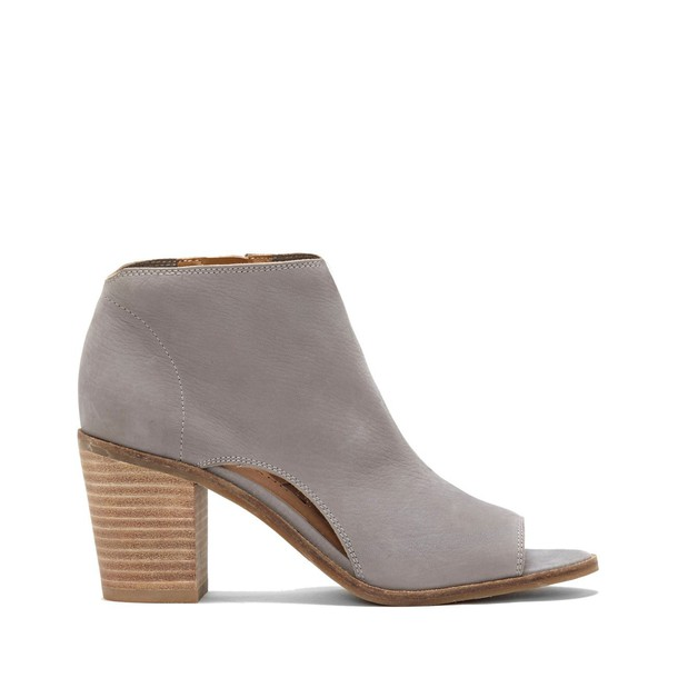 Lucky Brand Kasima Cut Out Heeled Sandal - Driftwood-6