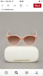 sunglasses,stella mccartney pink