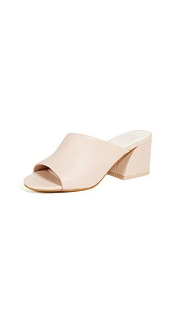 Dolce Vita heel sandals blush shoes
