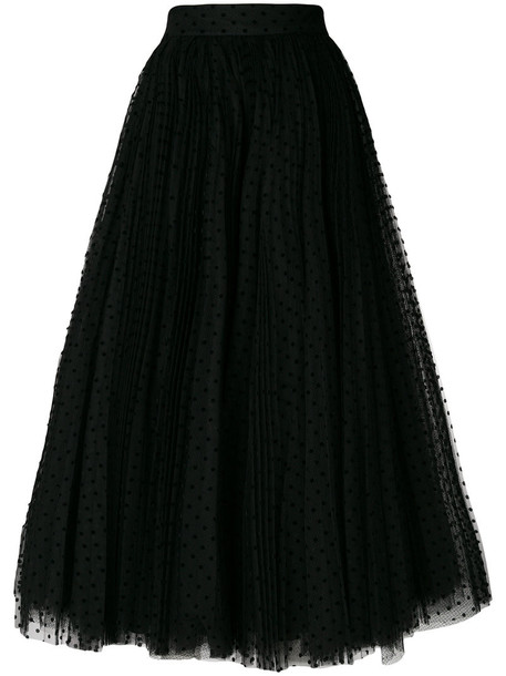 skirt tulle skirt women black