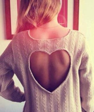 sweater heart style