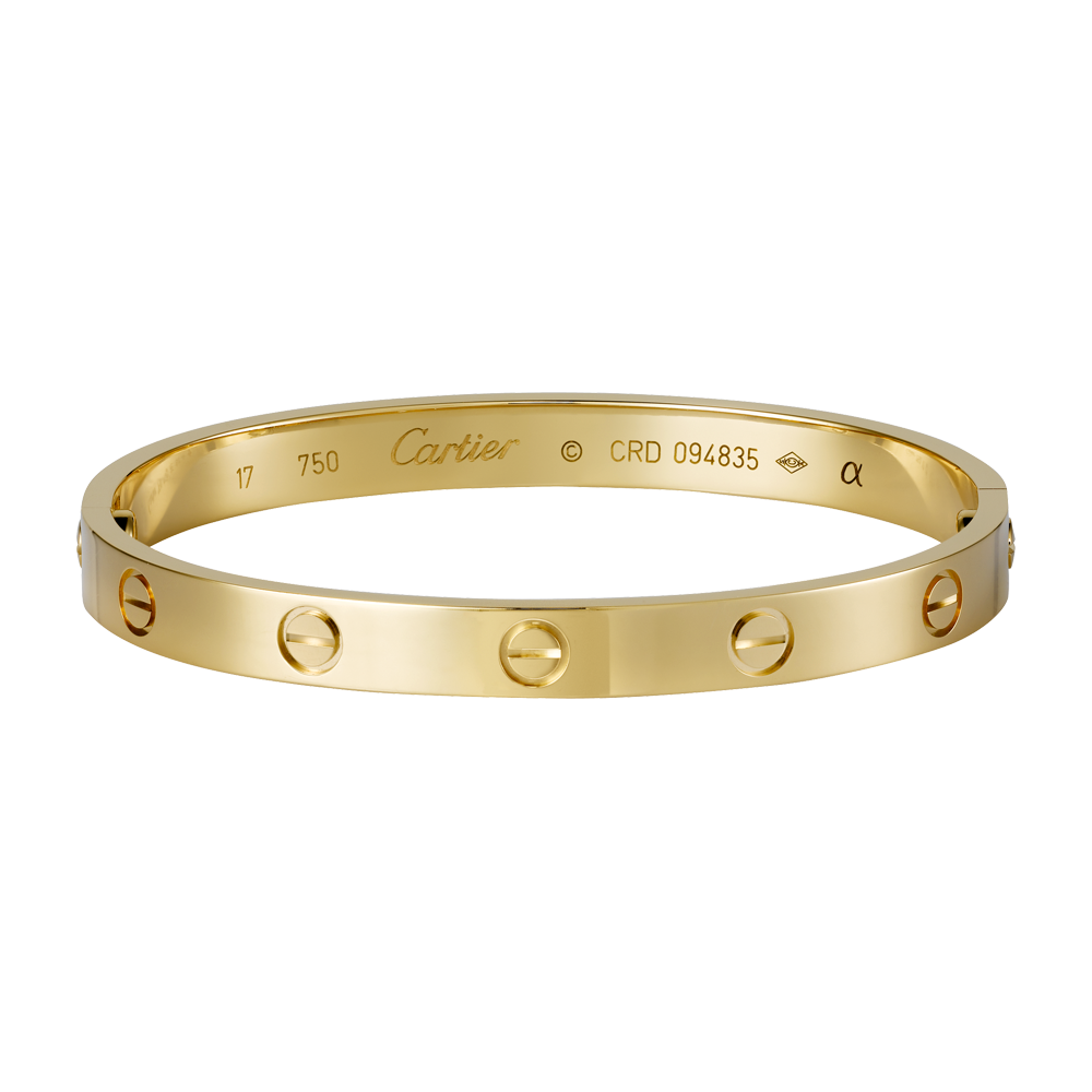LOVE bracelet - Yellow gold - Fine Bracelets for women -  Cartier