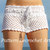 Pattern crochet white beach shorts and shorts color of summer, pattern beach shorts, womens summer shorts pattern - pattern PDF