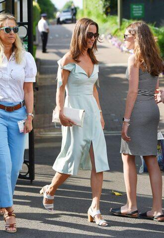 dress sandals midi dress pippa middleton summer dress summer outfits